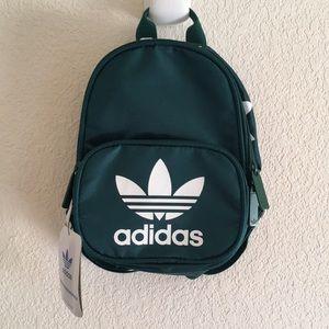 NWT Adidas Originals Mini Backpack in Green
